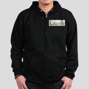 Lowchens Zip Hoodie (dark)