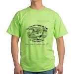 Save Lake Trout Tees Green T-Shirt