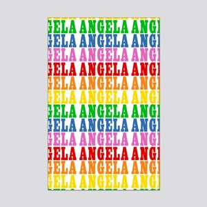 Rainbow Name Pattern Mini Poster Print