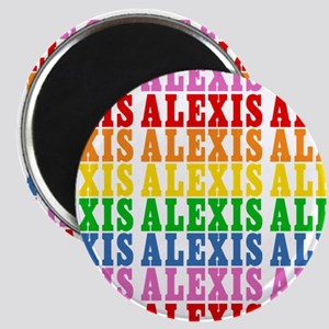 Rainbow Name Pattern Magnet