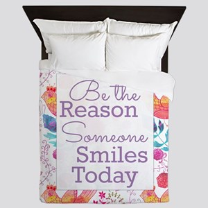 Smiles Queen Duvet