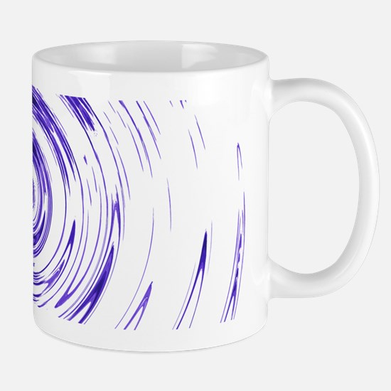 Blue Bullseye Mug