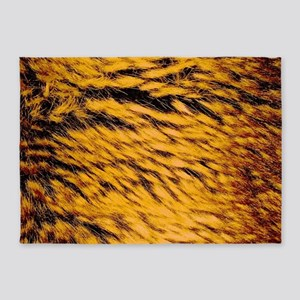 Tan Fur 5'x7'Area Rug