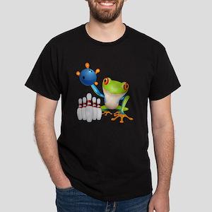 Bowling Frog Dark T-Shirt