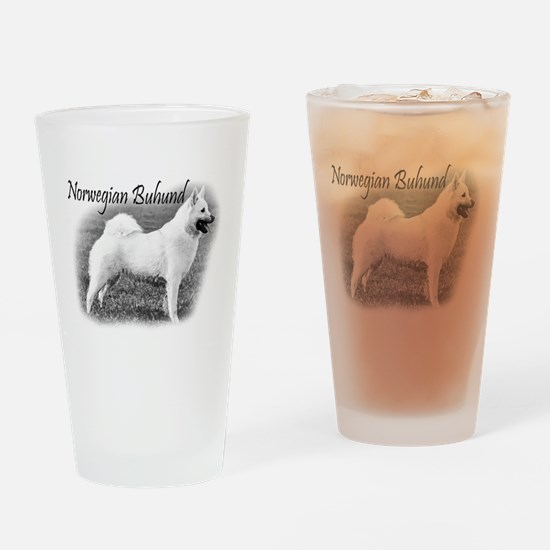 Norwegian Buhund 1 Drinking Glass