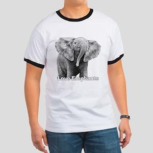 Love Elephants! Ringer T