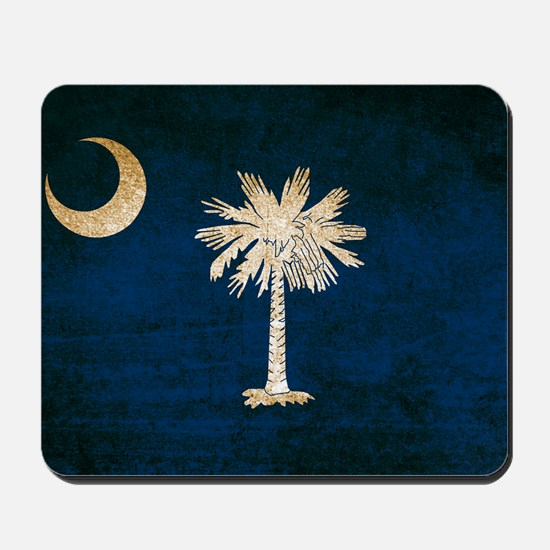Vintage Flag of South Carolina Mousepad