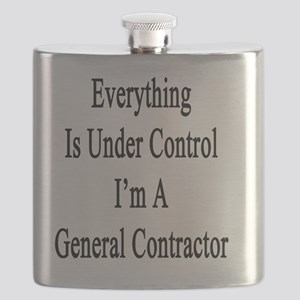 Everything Is Under Control I'm A General Co Flask