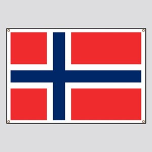 Flag of Norway Banner