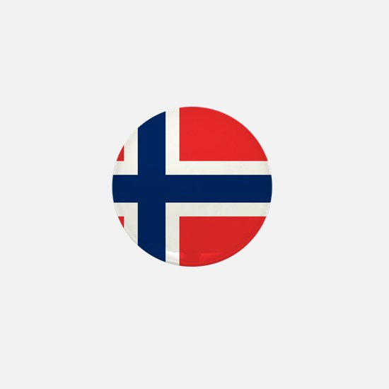 Flag of Norway Mini Button