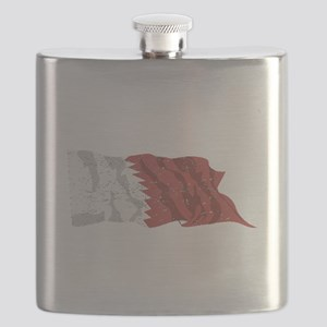 Qatar Flag (Distressed) Flask