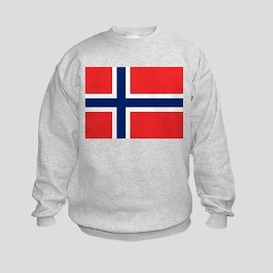 Flag of Norway Kids Sweatshirt