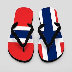 Flag of Norway Flip Flops