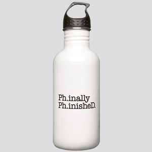 PhD Doctoral Graduate Water Bottle