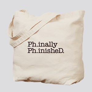 PhD Doctoral Graduate Tote Bag