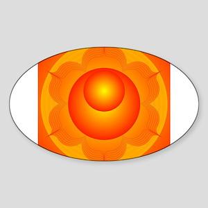 Mandalas for Meditation Sacral Chakra Sticker