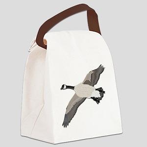 Canada goose-No Text Canvas Lunch Bag