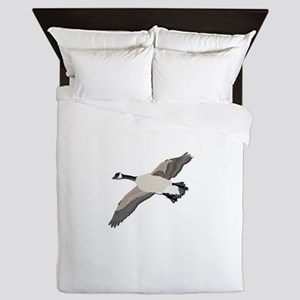 Canada goose-No Text Queen Duvet