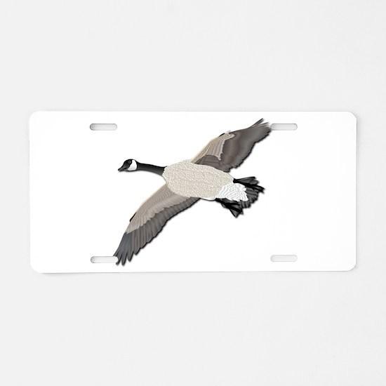 Canada goose-No Text Aluminum License Plate