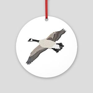 Canada goose-No Text Ornament (Round)
