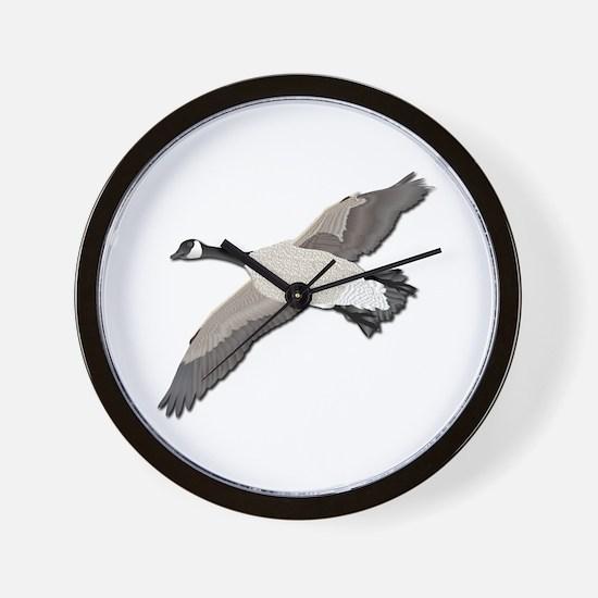 Canada goose-No Text Wall Clock