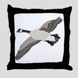 Canada goose-No Text Throw Pillow
