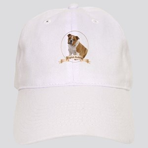 English Bulldog Baseball Cap
