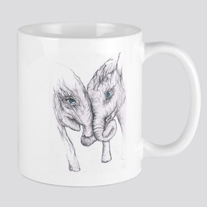 Elephants Kiss Mugs