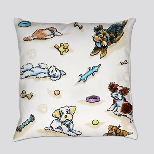 Poodle Mix-ing It Up Everyday Pillow