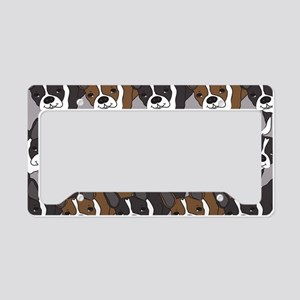 Boston Terriers License Plate Holder