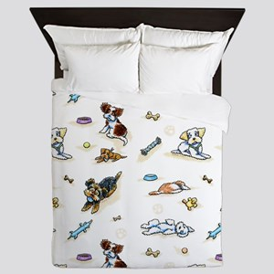 Poodle Mix n It Up Queen Duvet