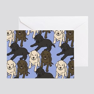 Labradors Greeting Card