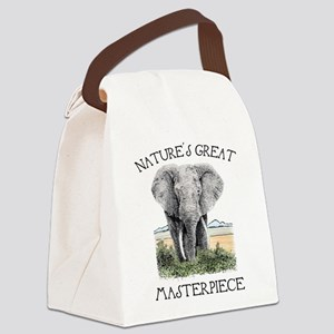 Masterpiece Canvas Lunch Bag