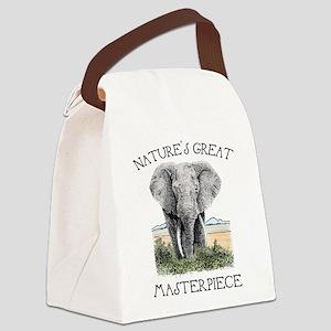 Masterpiece Canvas Lunch Bag