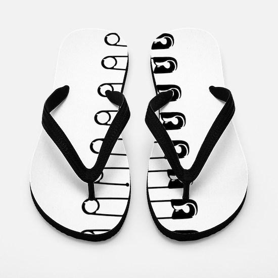 Safety Pins Flip Flops