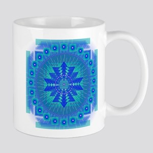 Mandala for Thraot and Brow Chakra Mugs