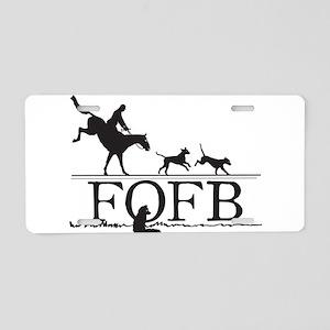 FOFBlogo Aluminum License Plate