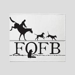 FOFBlogo Throw Blanket
