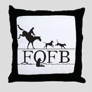 FOFBlogo Throw Pillow