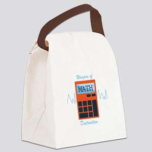 Weapon of Math Canvas Lunch Bag