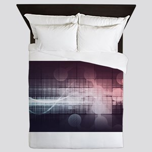 Disruptive Science and Techn Queen Duvet