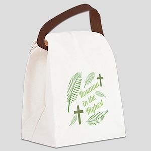 Hosanna In The Highest Canvas Lunch Bag