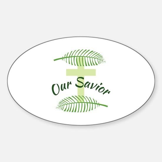 Our Savior Decal