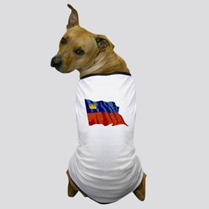 Liechtenstein Flag (Distressed) Dog T-Shirt