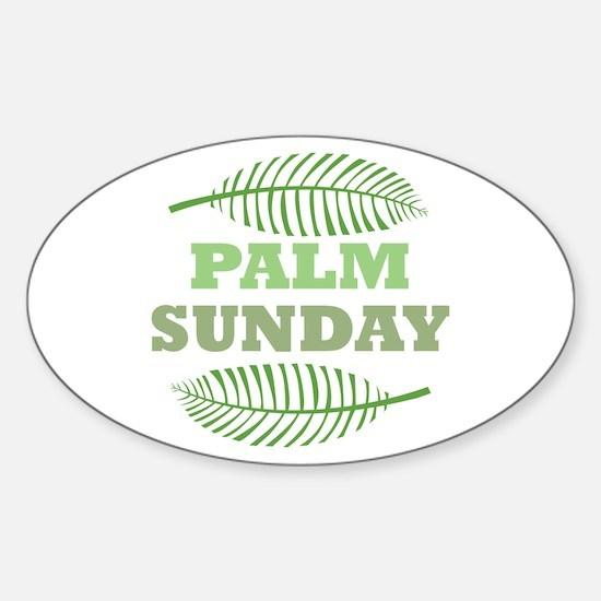 Palm Sunday Decal