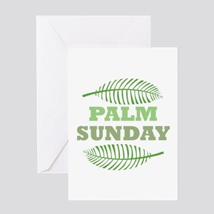 Palm sunday greeting cards cafepress palm sunday greeting cards m4hsunfo