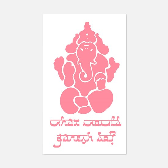 What Would Ganesh Do? Decal