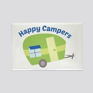 Happy Campers Magnets