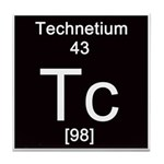 43. Technetium Tile Coaster