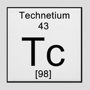 Periodic table technetium coasters cafepress technetium tile coaster urtaz Images